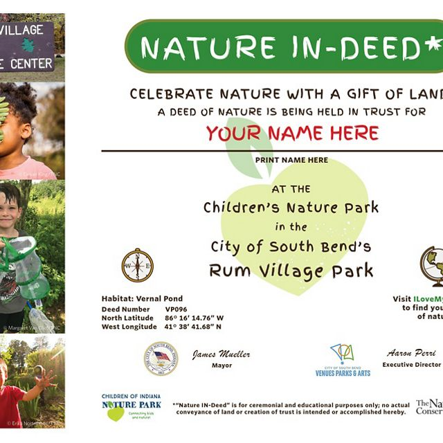 CINP Nature IN-Deed for the Rum Village partner park.