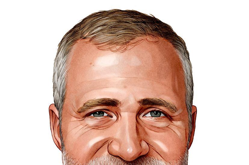 Portrait of Chris Helzer.