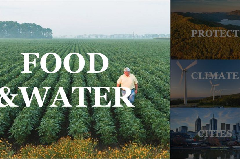 Provide Food and Water Sustainably: One of The Nature Conservancy's top priorities