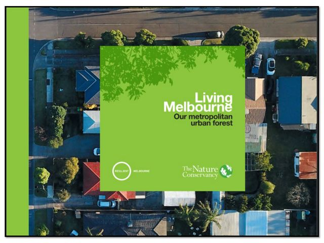 Urban forests in Melbourne, Australia