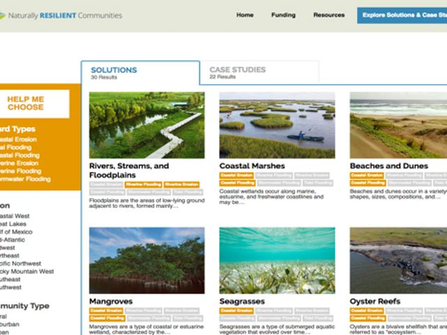 Thumbnail - Naturally Resilient Communities Screenshot