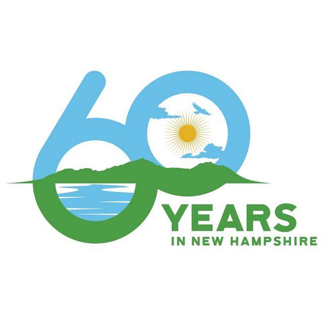 Logo for New Hampshire's 60th Anniversary