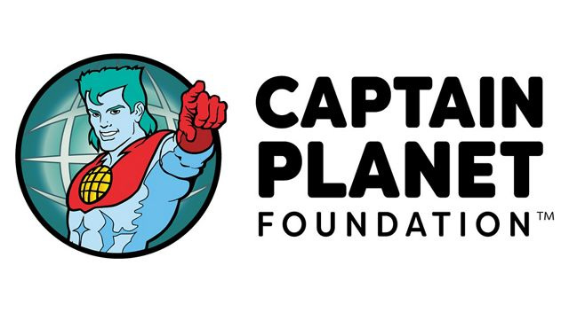 "Captain planet pointing at the user next to text ""Captain Planet Foundation"""