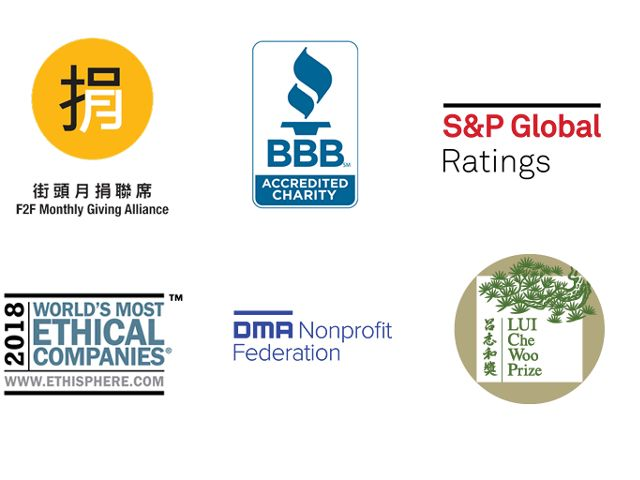 Collage of logos.