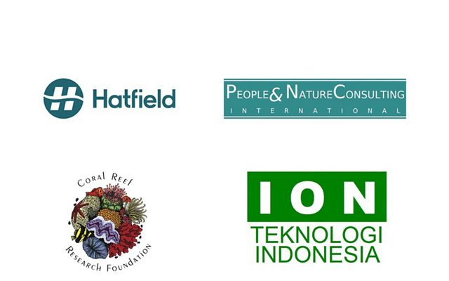 Four company logos.