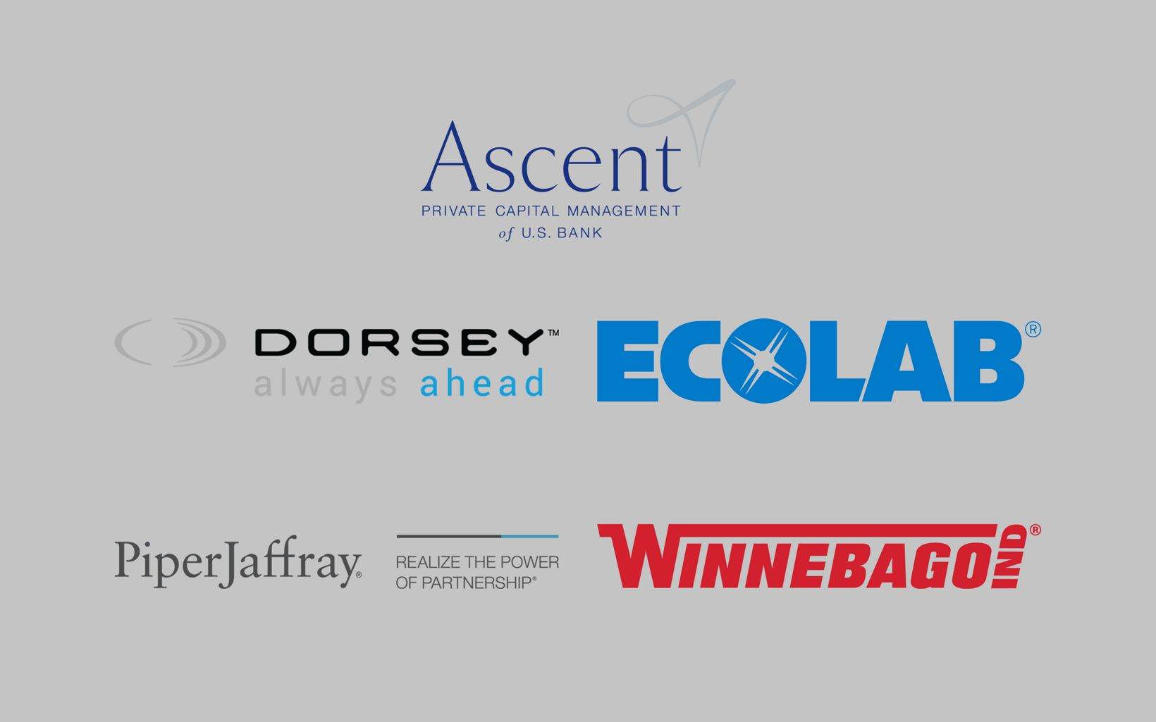 Stream Sponsors logos