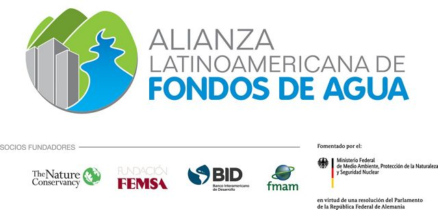 Logo de la Alianza Latinoamericana de Fondos de Agua
