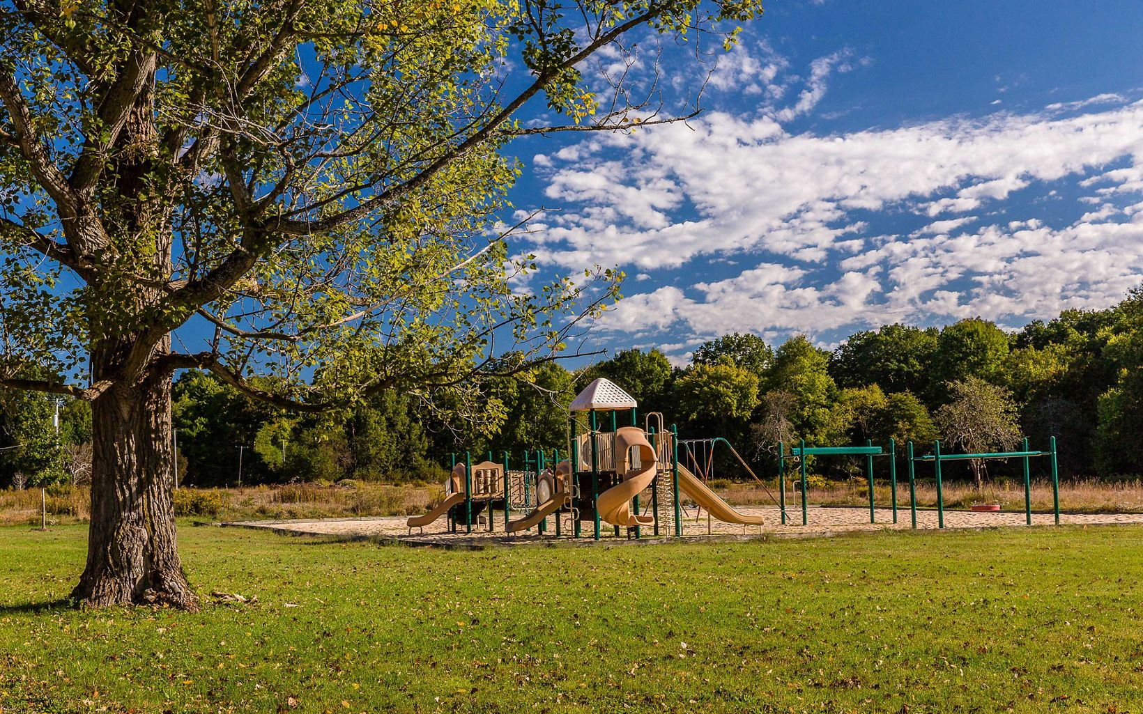 Playground at the Grand River Conservation Campus