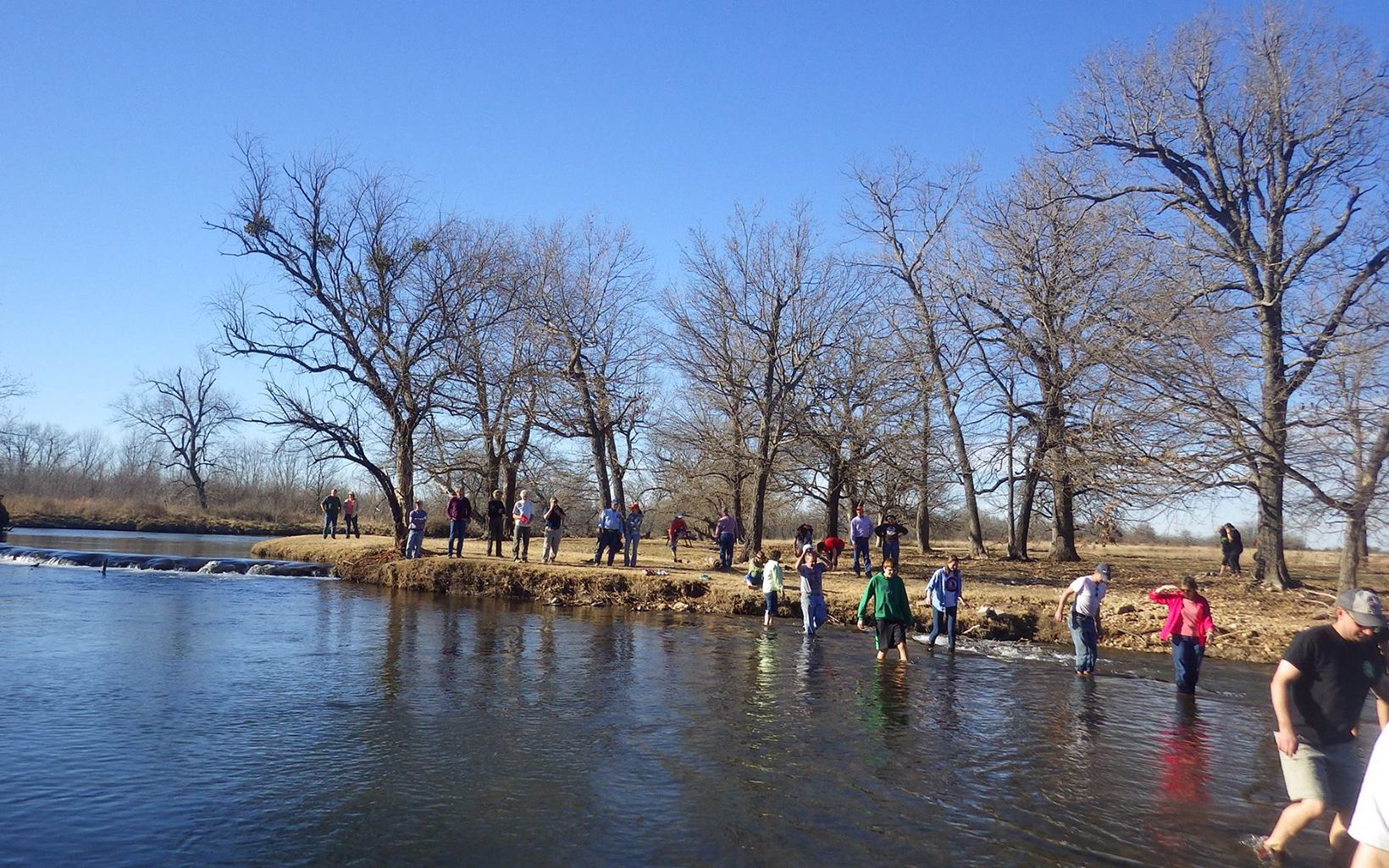 Volunteer Clean Ups at Blue River