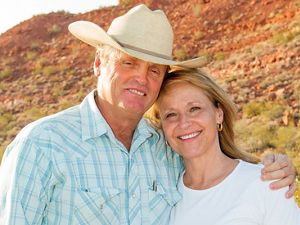 Ranchers Jay and Diane Tanner