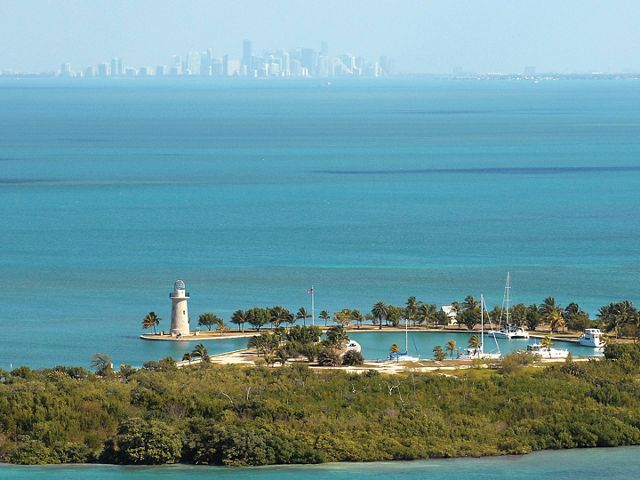 The only national park that's 95% underwater, Biscayne National Park encompasses 173,000 acres of vital marine habitat.