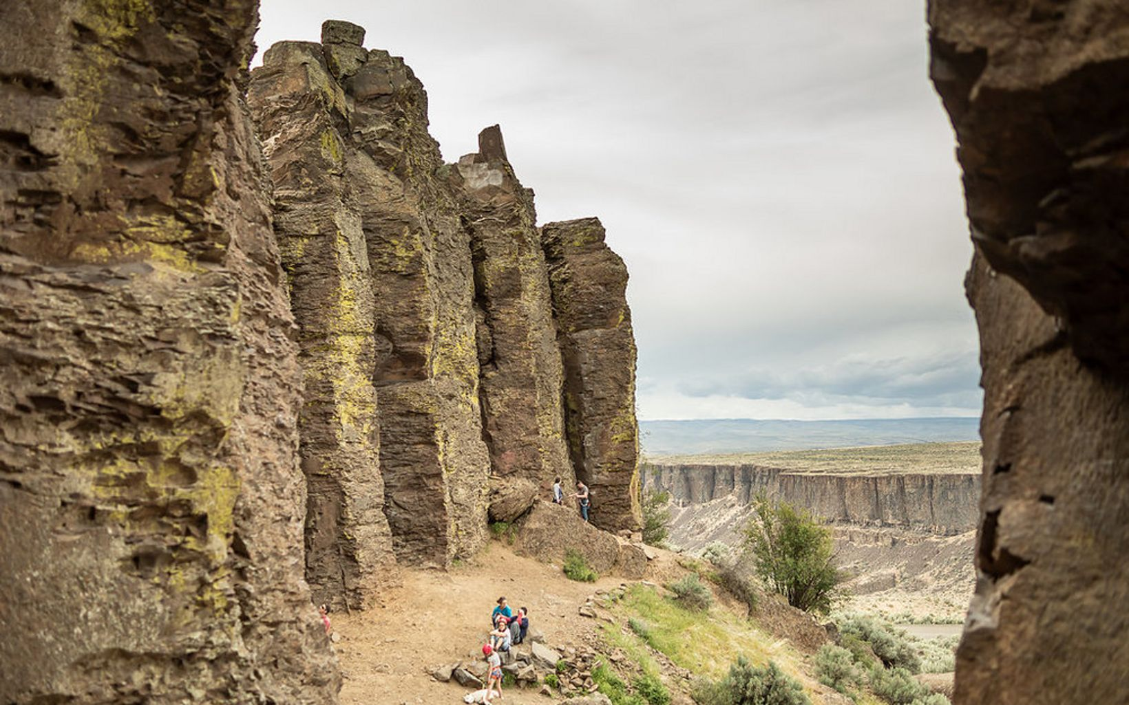 and abilities take on the Feathers at Frenchman Coulee along the Columbia River near Vantage, WA. Coulees were carved at the end of the last ice age, as g