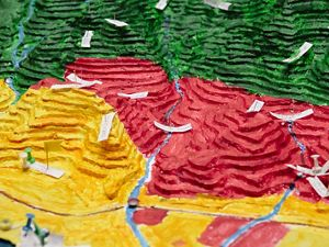 (participatory three-dimensional mapping) is a tool and technique that helps communities visualize their land so they can better plan and manage their natural resources.