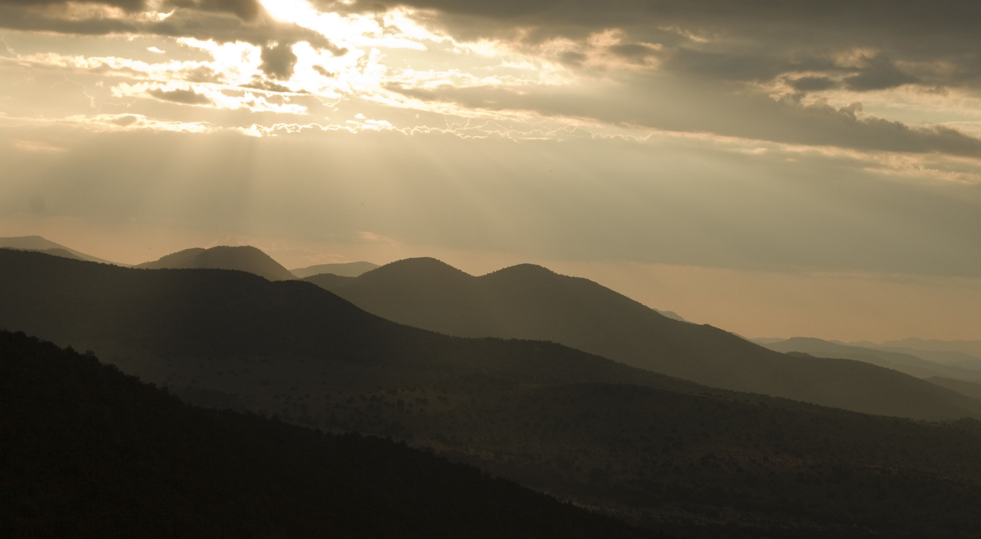Sunset over the Conservancy's Davis Mountains Preserve.