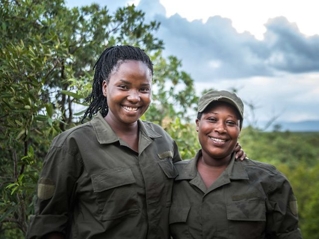 Rangers at the Randilen Wildlife Management Area in Tanzania serve their communities by protecting wildlife.