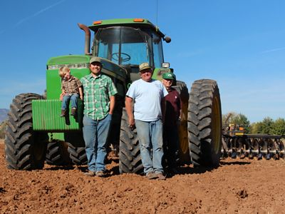 Four generations of farmers