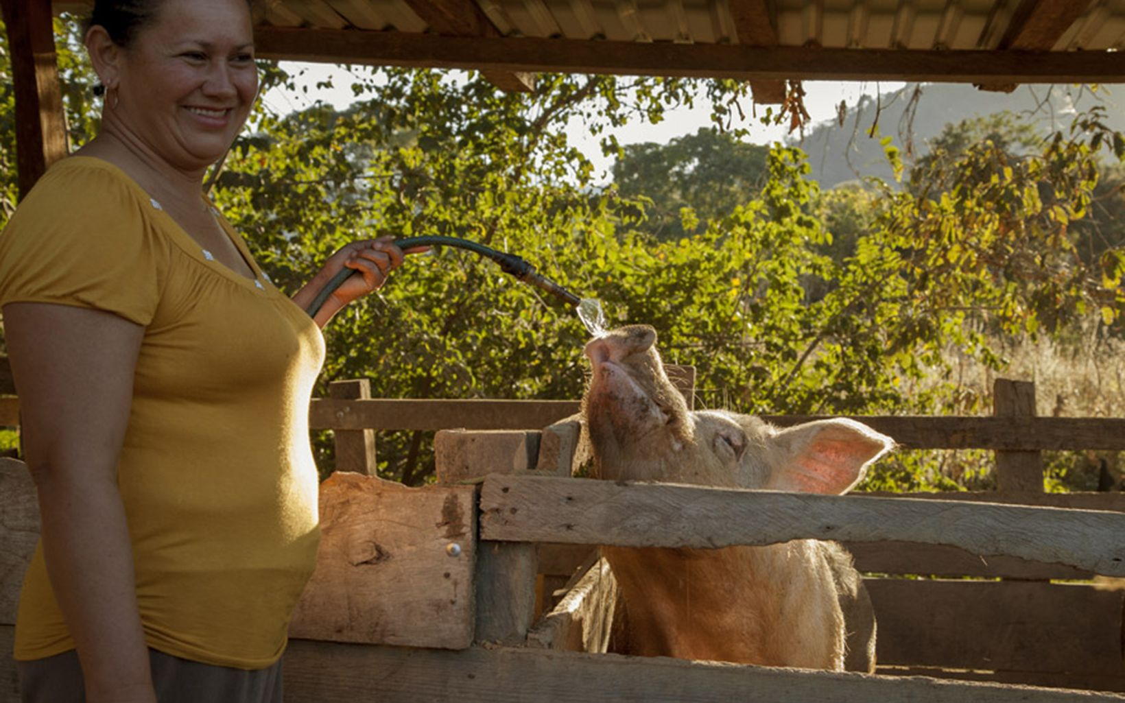 Livestock management is often not an isolated activity, and contributions made by all family members are essential elements to ranching's productive value chain.