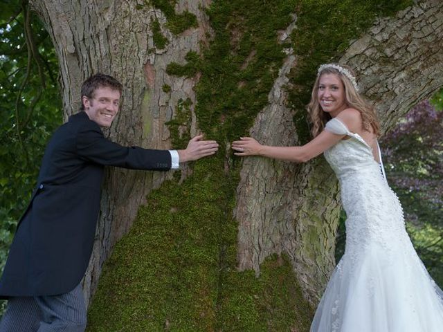 Trees Need Love Too. I've always been an avid environmentalist and tree-hugger, so when I saw this huge old tree at our wedding venue, we couldn't pass up the opportunity to g