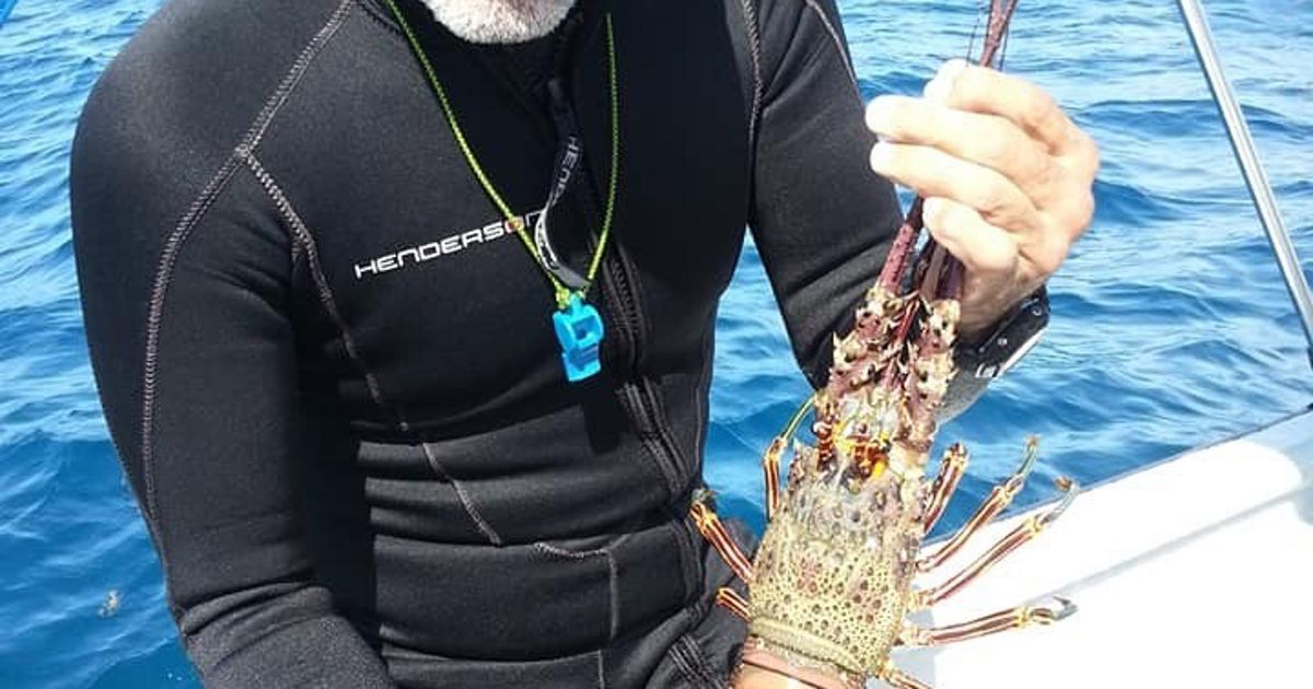 Andrés Maldonado has been diving for a living since 1973. He's glad to be testing an electronic reporting system in Puerto Rico, hoping better data may improve fisheries.