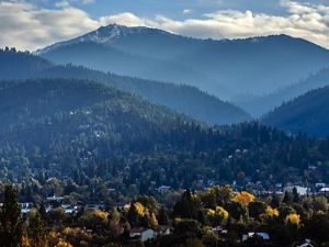 The City of Ashland, Oregon, is surrounded by private and public forests.
