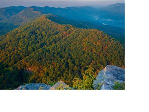 A Central Appalachians mountain.