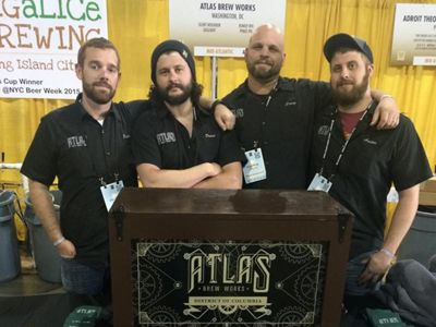 The team at Atlas Brew Works