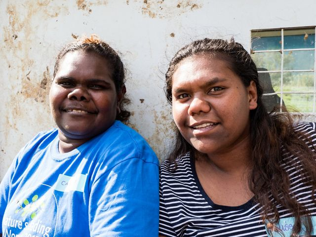 TNC is working with women in Northern Australia to engage and empower Indigenous Australians in the sustainable management of their country.
