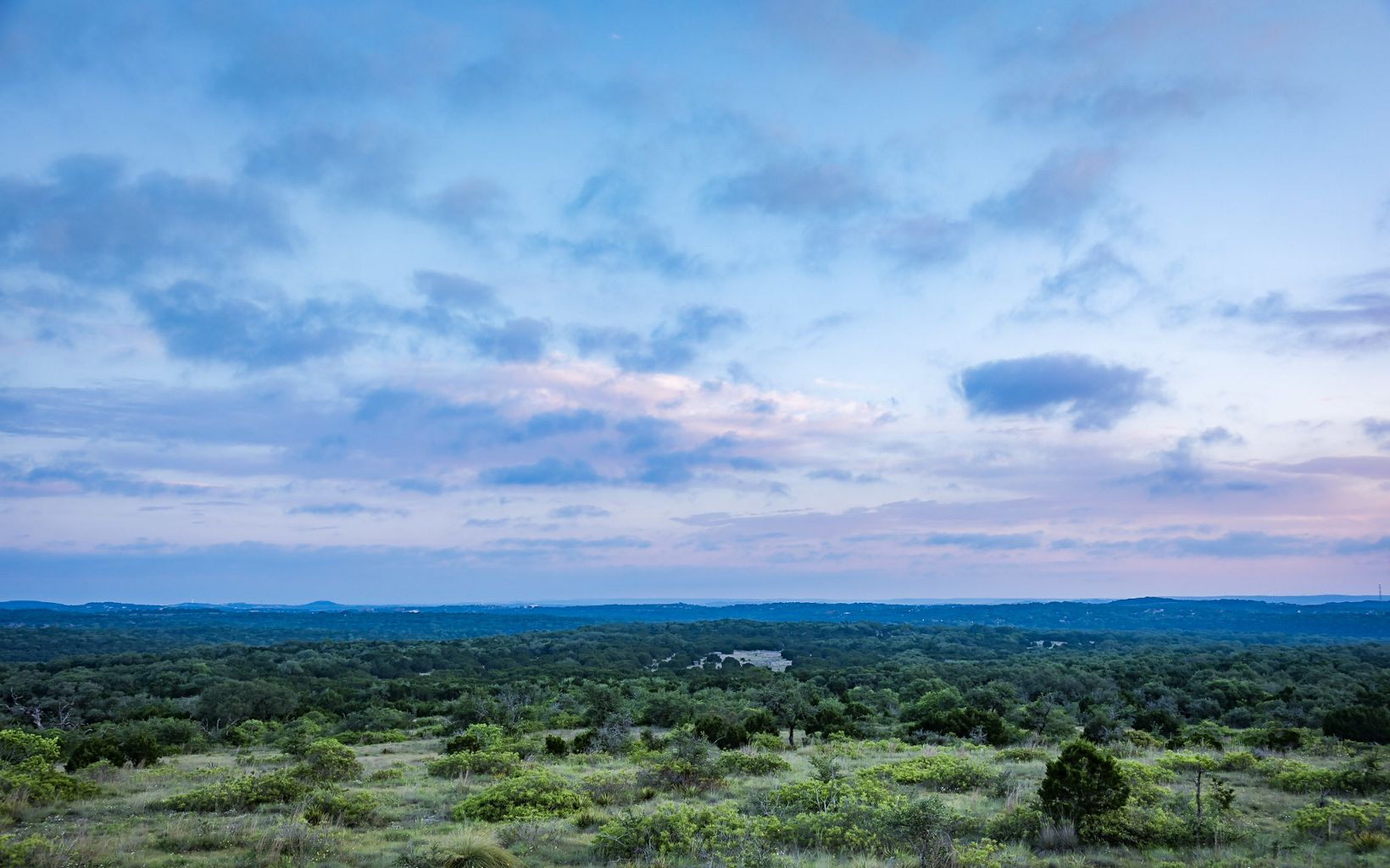 Scenic view of Barton Creek Habitat Preserve.