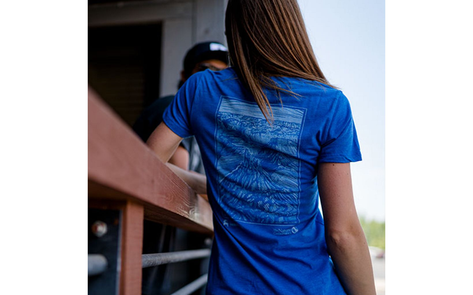 Backcountry donated $20 of every sale of this tee shirt to The Nature Conservancy for its work at the Canyonlands Research Center.