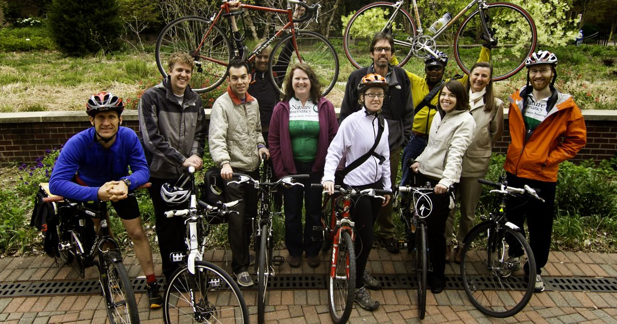 The Nature Conservancy is a bike-friendly workplace.