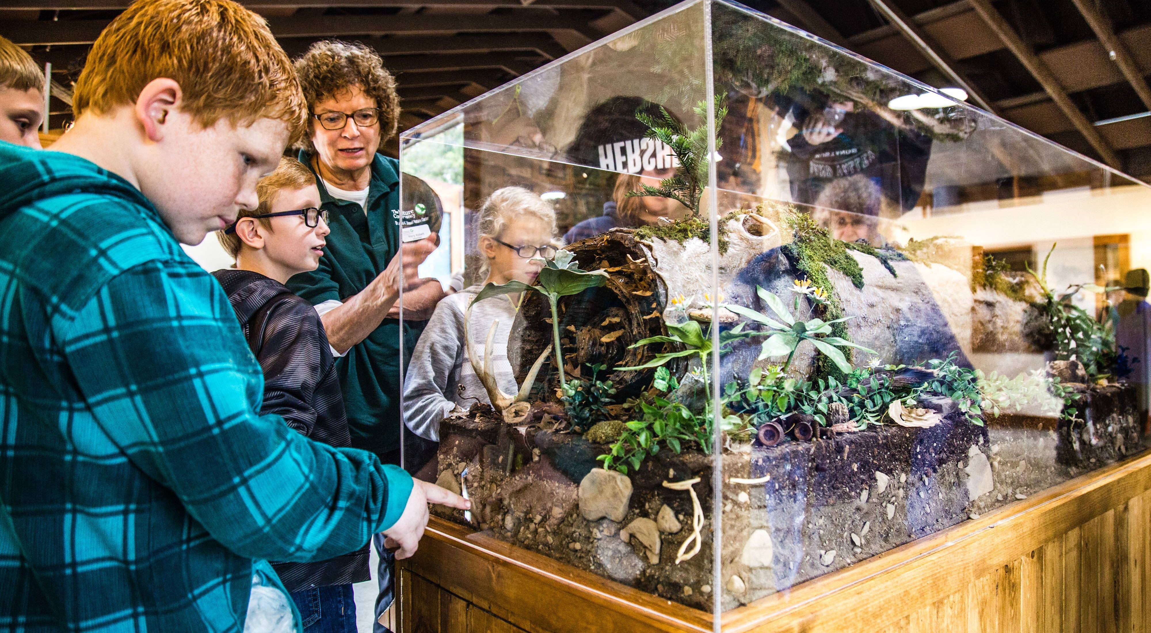 There are many educational displays to explore and ways to learn about nature in Ohio.