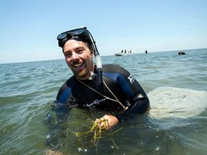 Coastal Scientist Bo Lusk works to protect VA's coast