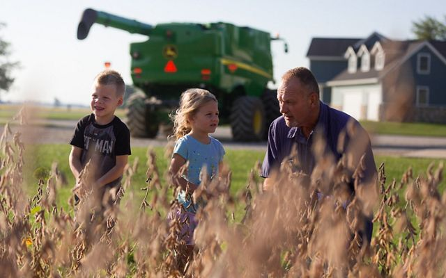 Brian Roemke and his extended family are reaping the benefits of cover crops on their Indiana farm.