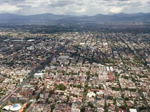 View of Mexico's city