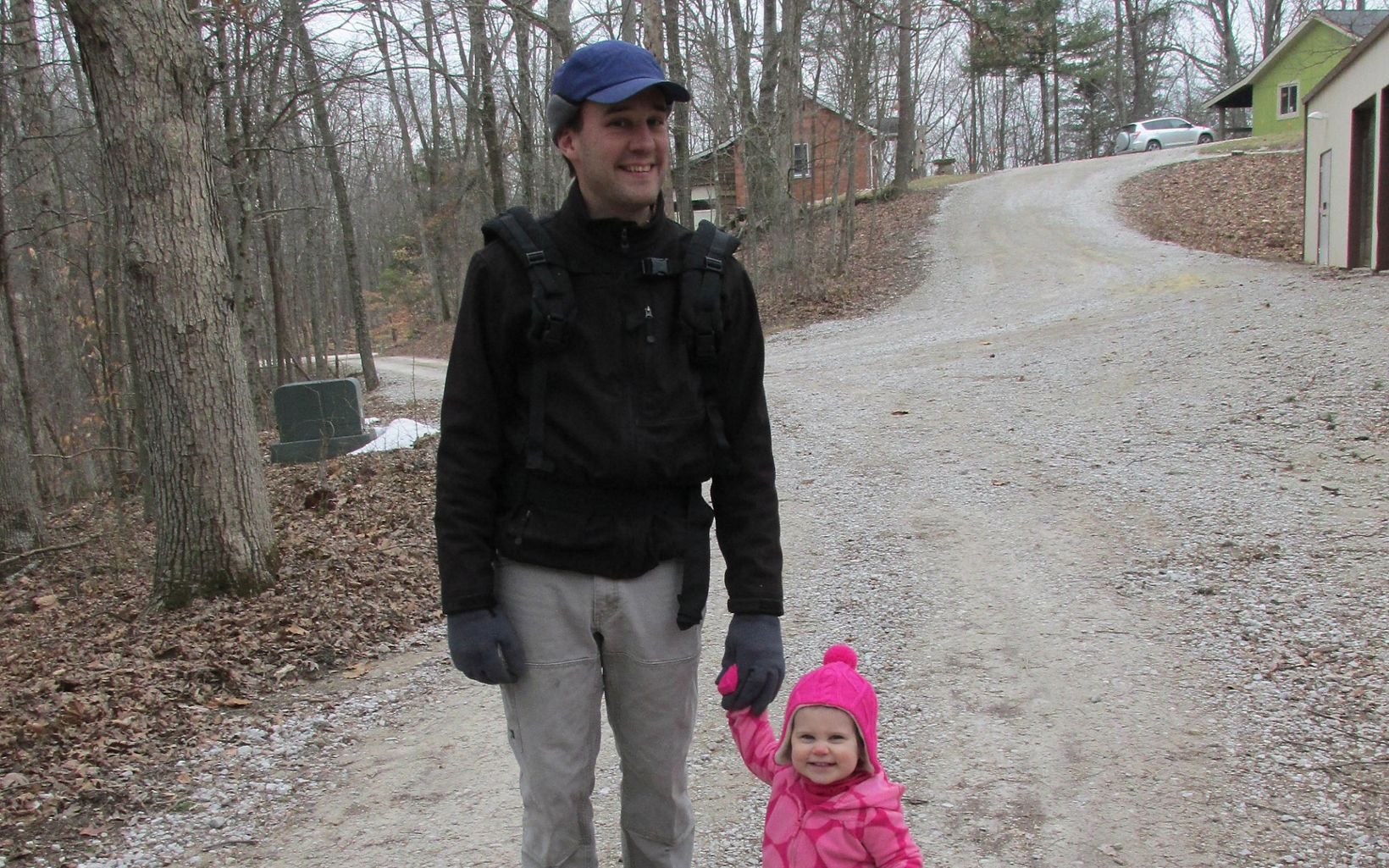Indiana Chapter forester Chris Neggers and daughter Diana, taken in 2014.