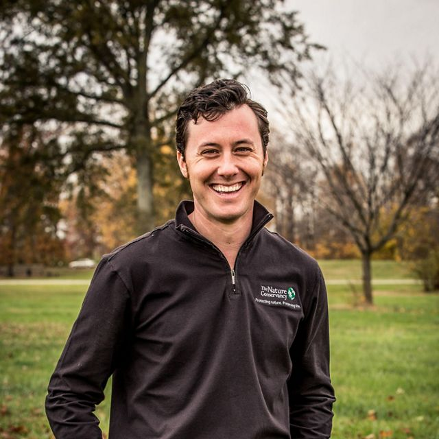 (ALL RIGHTS) November 2015. Chris Chandler, the Kentucky chapter's Urban Conservation Program Director. Photo credit: © The Nature Conservancy (Devan King)