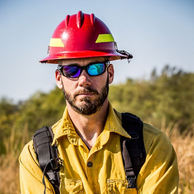 Chris Minor, Fire Manager in Kentucky