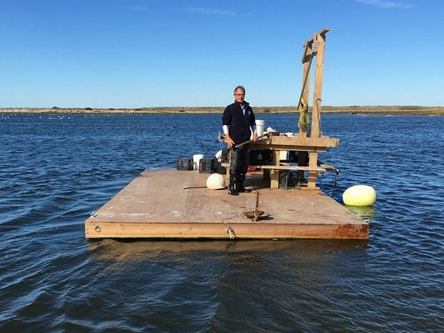 Seth and Dorothy Garfield of Cuttyhunk Oysters are faced with adapting their business to a changing climate.