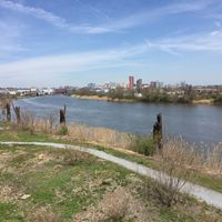 The Christina River in Wilmington, Delaware.