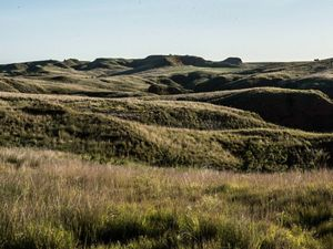 The rolling hills of Four Canyon Preserve in western Oklahoma.