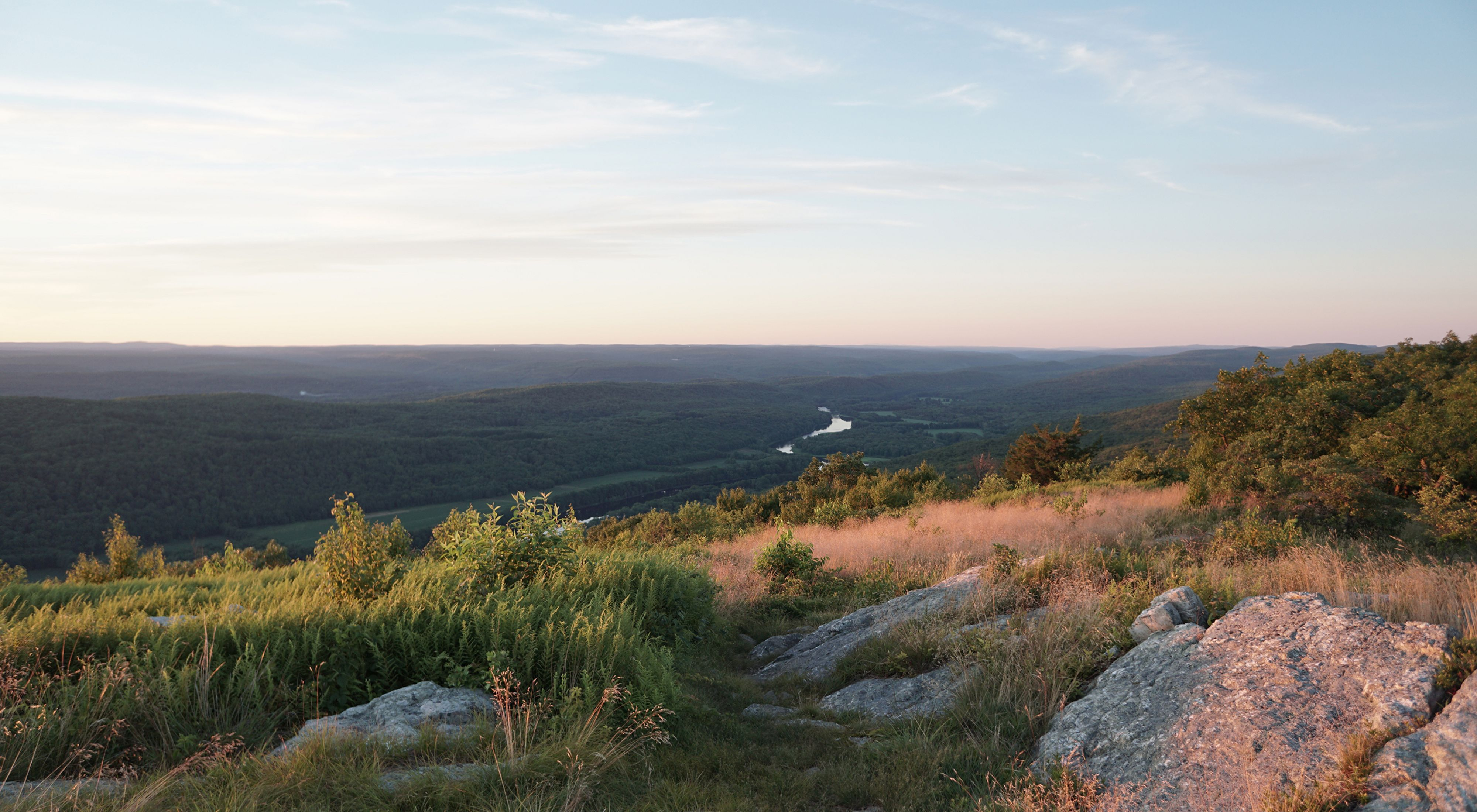 View from the Appalachian Trail.