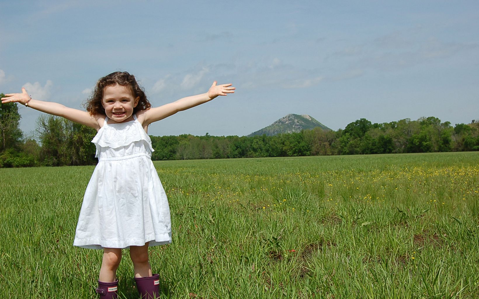 We hope visiting our newest preserve makes you as happy as this little conservationist.
