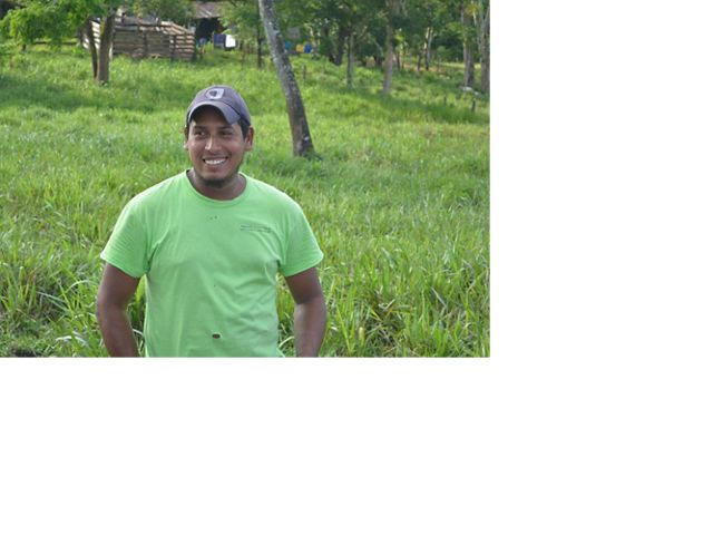 operates a 60-acre farm with 25 milk-producing cows in Boaco.