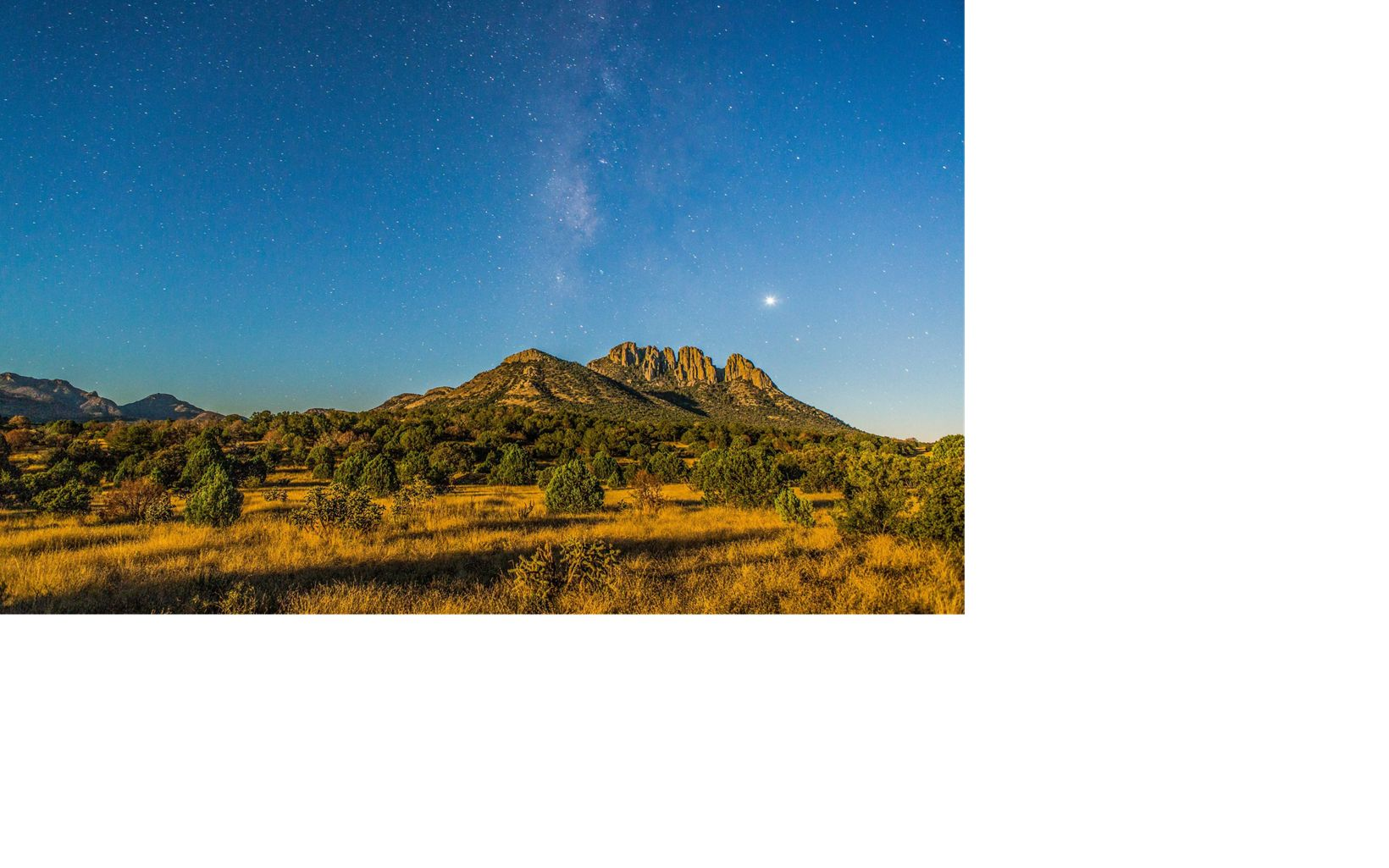 The Davis Mountains are one of just three sky islands in Texas  and a beautiful place for stargazing.