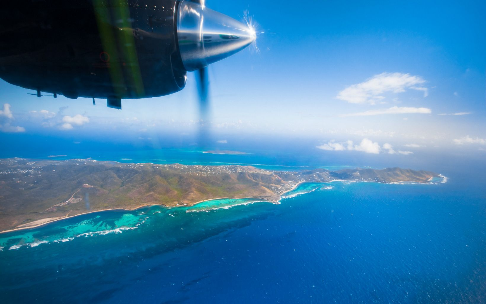 The mission in St. Croix was to map the East End Marine Park, a protected area pictured here.