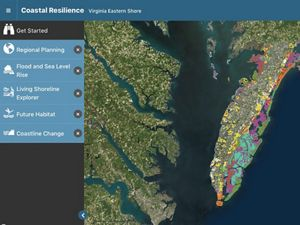 This information incorporated into the Coastal Resilience decision support tool provides local governments with the information they need to better plan for the future.