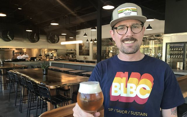 Evan Eppler, General Manager of Bad Lab Beer Company.