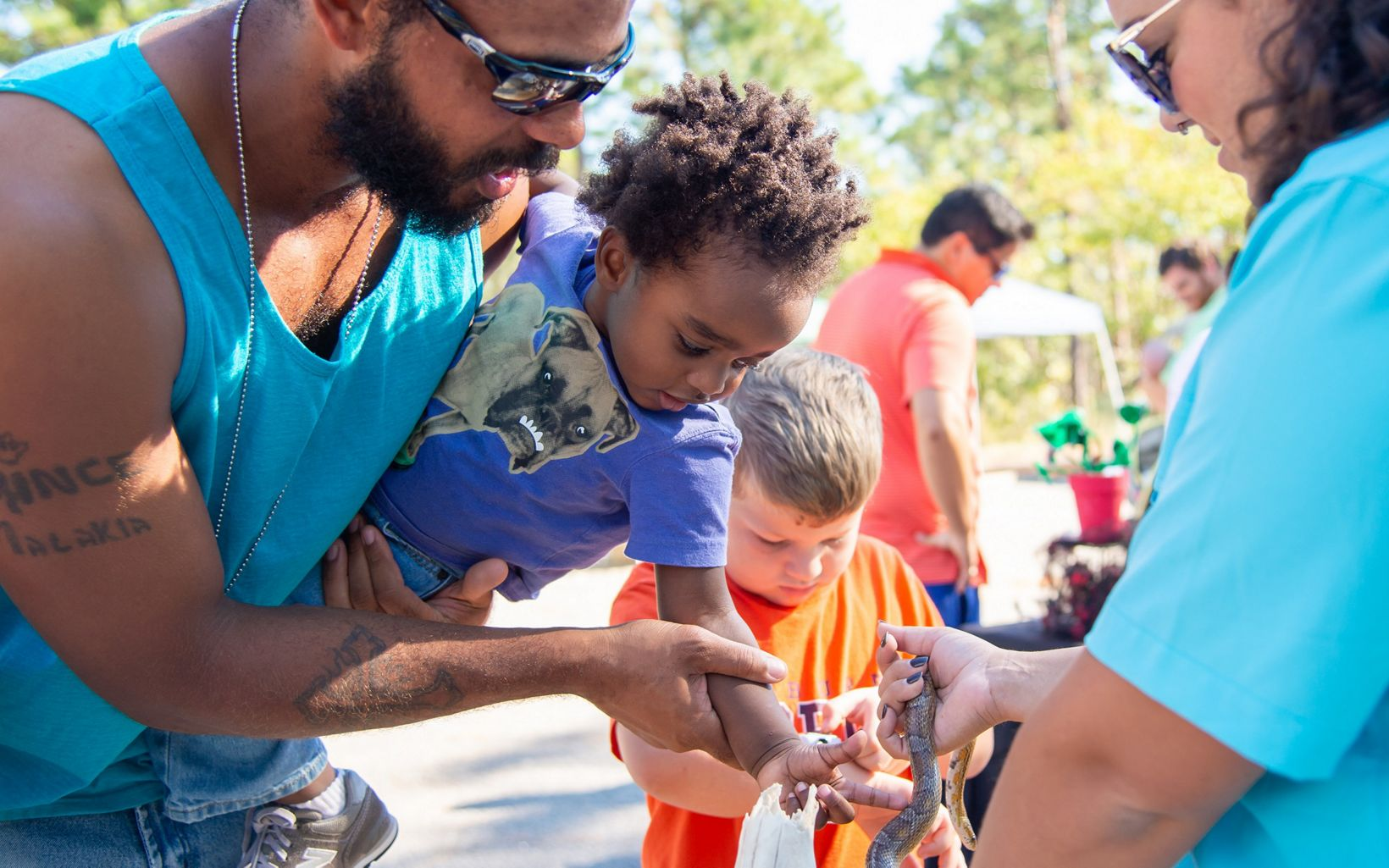 Families attend annual Fire in the Pines Festival in Wilmington