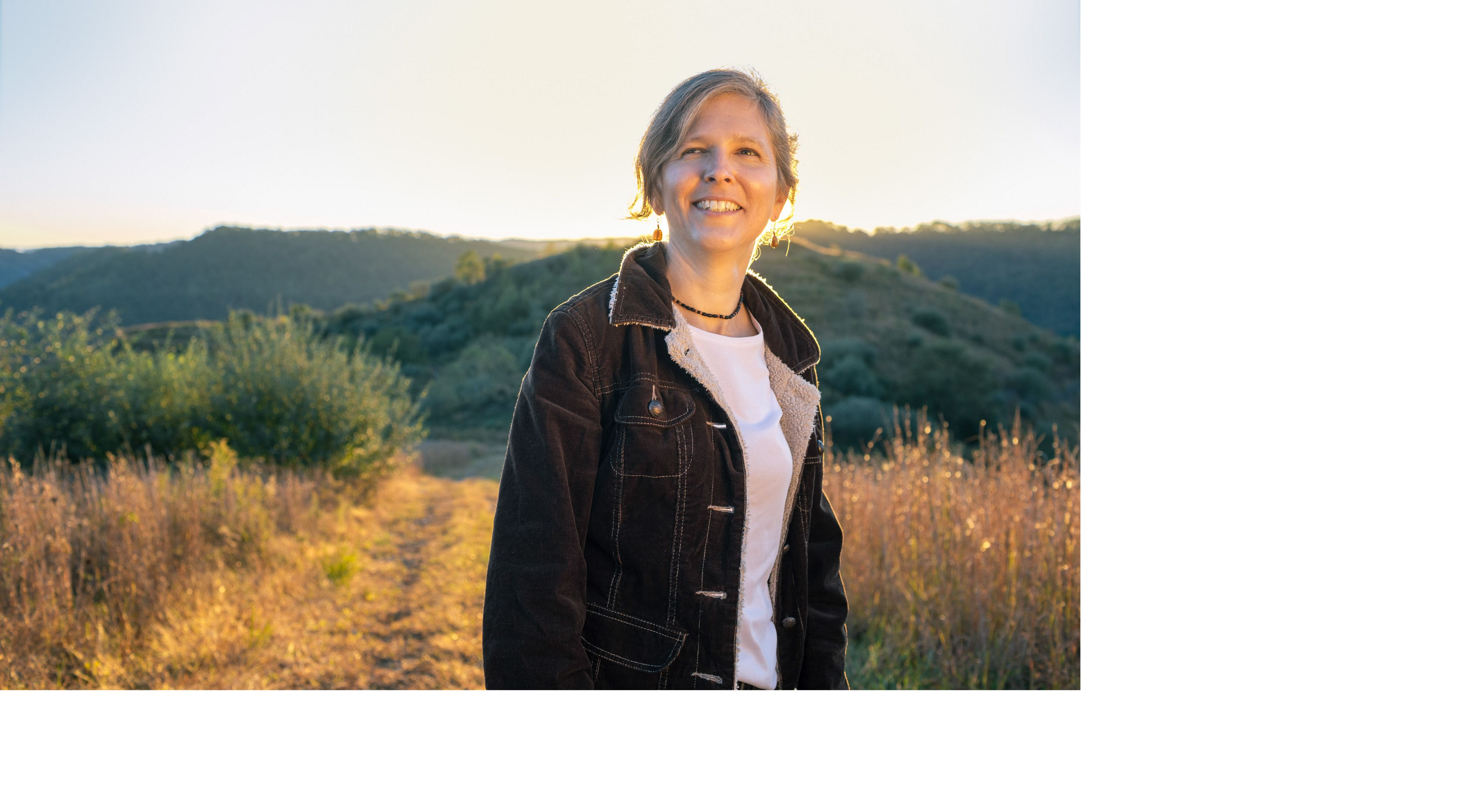 Beth Wheatley stands in the Tomblin Wildlife Management Area in West Virginia