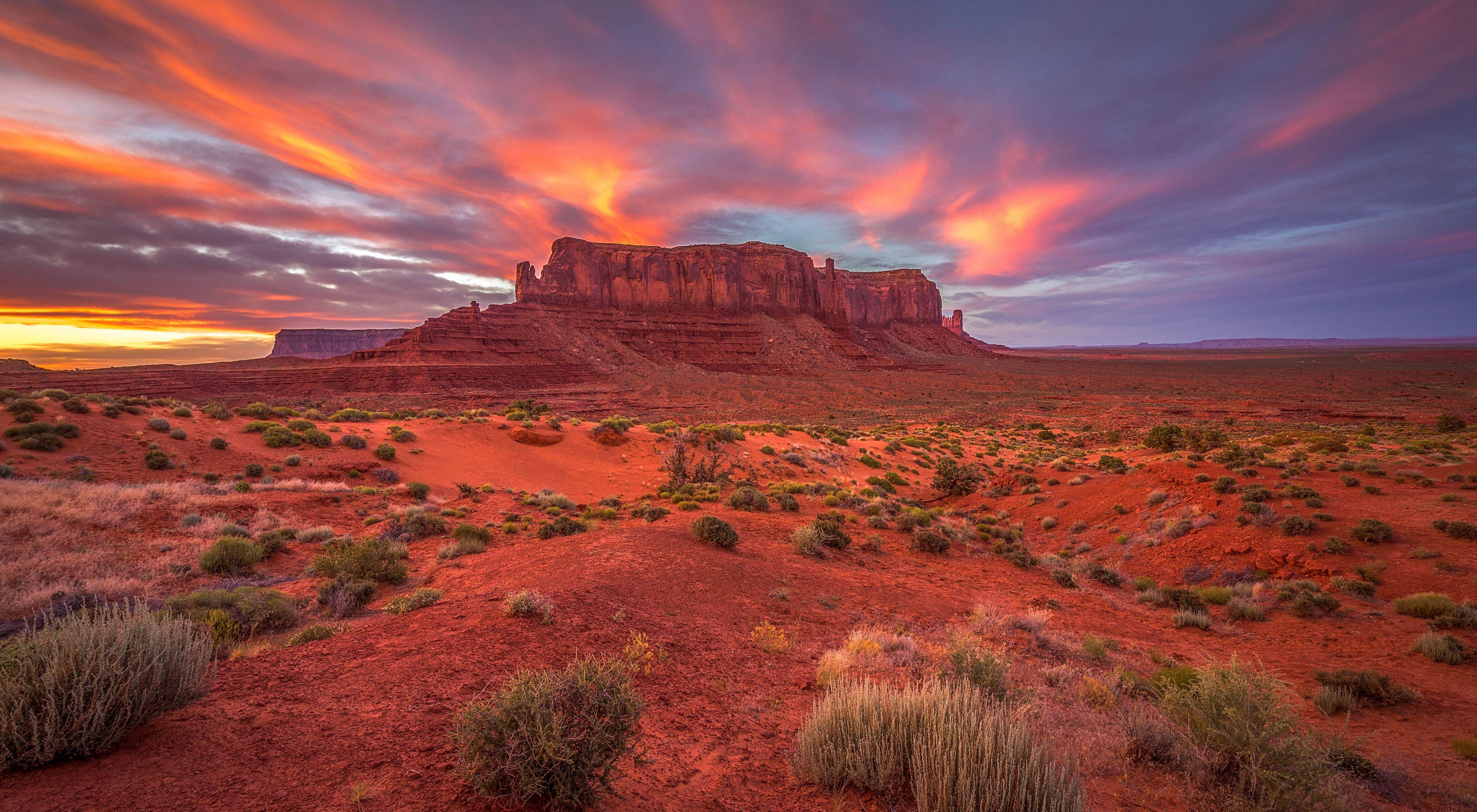 Sentinel Mesa in Arizona